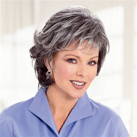 short salt and pepper hair hairstyles for salt and pepper hair for women salt and