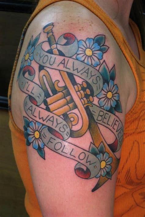trumpet tattoo designs 36 best trumpet images on trumpet