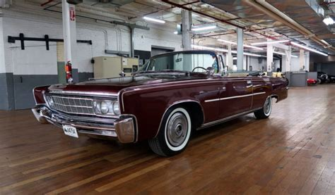 1966 Chrysler Imperial Convertible by 1966 Imperial Crown Convertible For Sale Chrysler