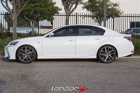 lexus gs350 f sport lowered tanabe usa r d blog tanabe nf210 springs on 2016 lexus