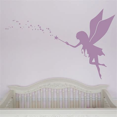 fairy decals for walls fairy dandelion wand wall decal