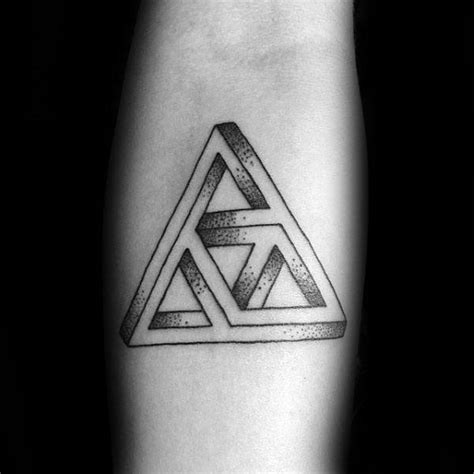 tattoo infinity triangle 60 triforce tattoo designs for men legend of zelda ink ideas