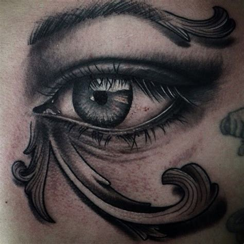 egyptian eye tattoo done by theo pedrada tattoostage rate review your