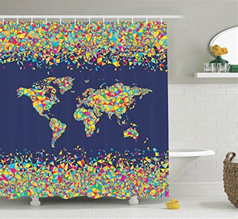 world map bathroom accessories world map shower curtain webnuggetz com