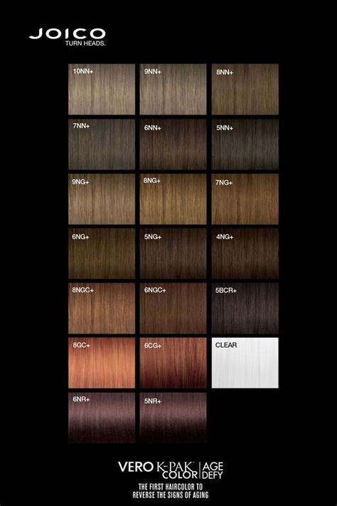 hair color chart joico 17 best images about color charts on colour