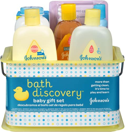 Bathing Set johnson s bath discovery gift set for parents