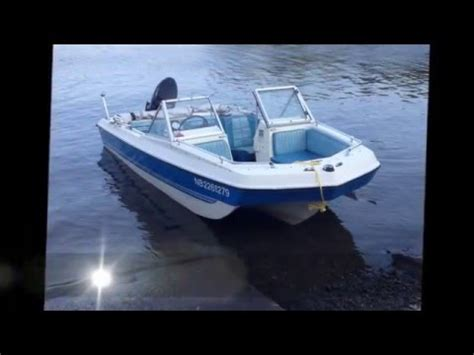 boat crash at lake thunderbird 1981 tri hull fish ski boat w 50 hp motor doovi