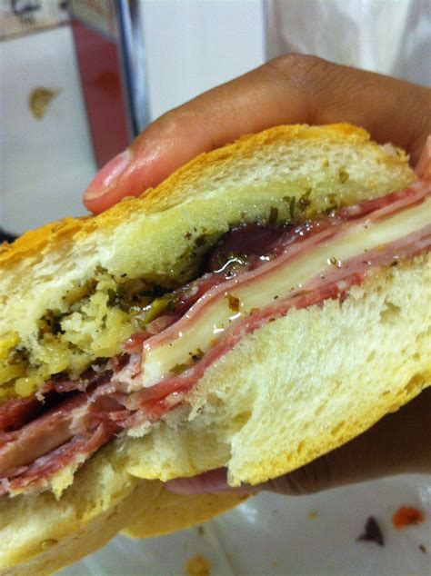 Wich Of The Week Muffaletta by File Muffaletta At Central Grocery New Orleans Jpg
