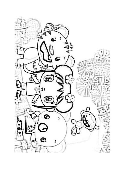 nick jr chinese new year coloring pages ni hao kai lan characters coloring pages 05 coloring