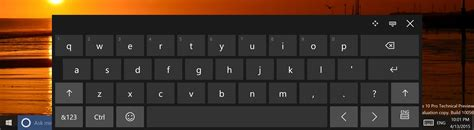 keyboard layout button windows 10 build 10056 features updated touch keyboard