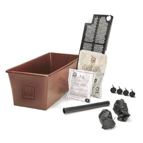 earthbox container gardening system earthbox 1010036 organic earthbox terracotta 858385001385