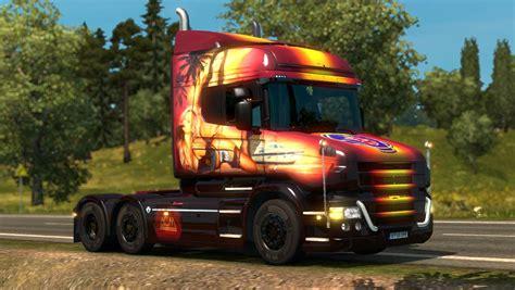 scania truck scania t v1 9 truck euro truck simulator 2 mods