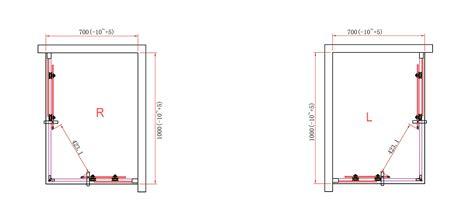altezza box doccia box doccia angolare 8mm quadrato rettangolare altezza 190