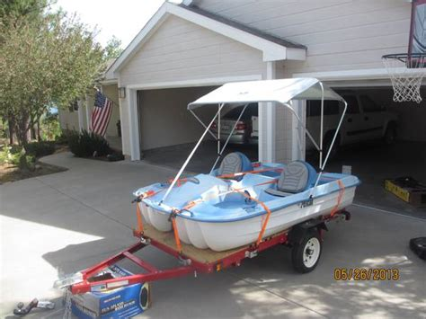 pelican paddle boat used pelican 5 person paddle boat for sale