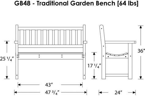 outdoor bench dimensions garden bench designs metal