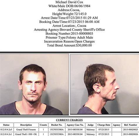 Arrest Records Brevard County Florida Arrests In Brevard County July 23 2015