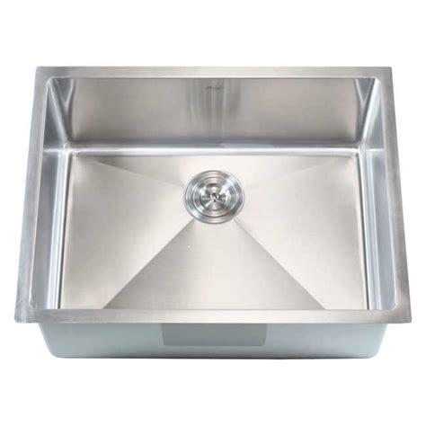 28 inch undermount sink ariel 26 inch stainless steel undermount single bowl