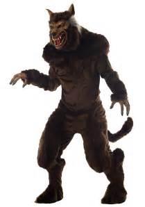 bigfoot halloween costumes for adults deluxe werewolf costume