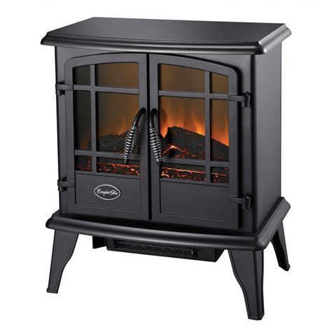Electric Wood Heater The Keystone Es5130 Black Electric Wood Stove