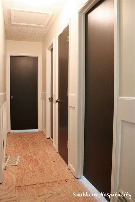 How To Paint An Interior Door Painting Interior Doors Brown Black Hometalk