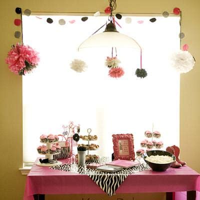 Zebra And Pink Baby Shower by Pink Zebra Striped Baby Shower Baby Shower Pictures Tip Junkie