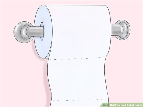 Toilet Paper Folding Designs - 8 ways to fold toilet paper wikihow