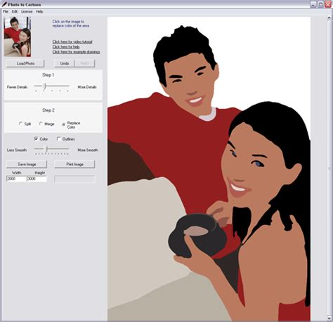 poto tato kartun free download photo to cartoon editors software