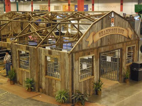 The Barn Show Around The Barns At The Houston Livestock Show The Pulse
