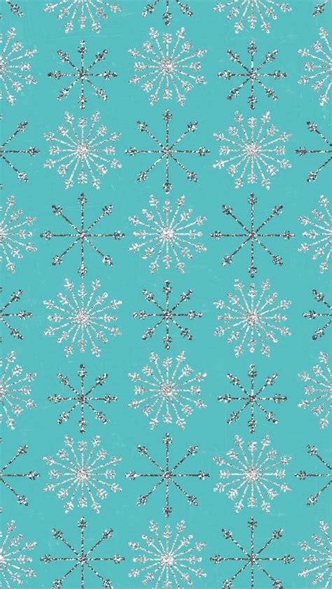 sparkly snowflakes iphone backgrounds pinterest