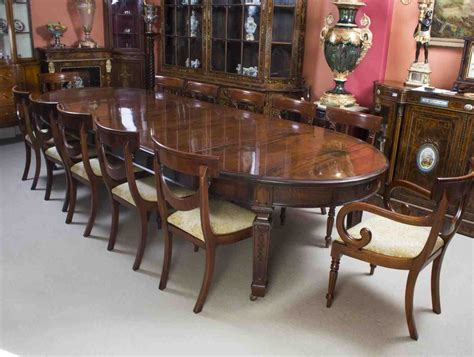 Dining Table Set For 12 Large Oval Dining Table Seats 12 Temasistemi Net