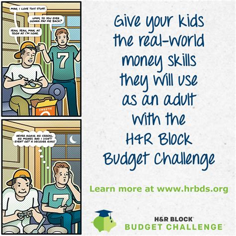 H&R Block Budget Challenge H And R Block Budget Challenge Tips