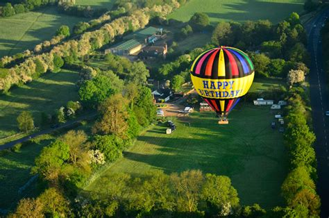 A happy birthday buckinghamshire balloon ride