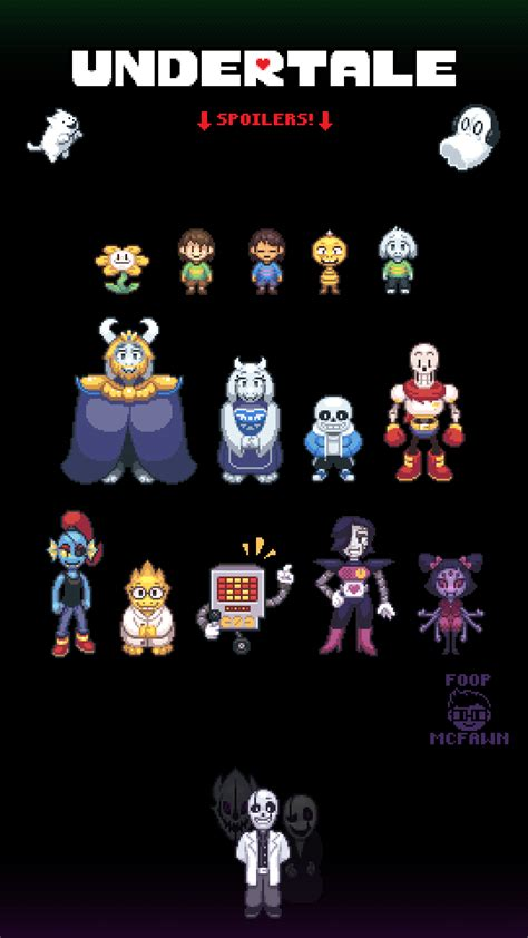 Non Permanent Wallpaper by Undertale Sprites By Foop Mcfawn On Deviantart