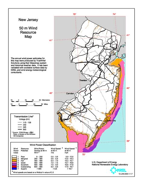 new jersey design wind speed map wind power in new jersey wikiwand