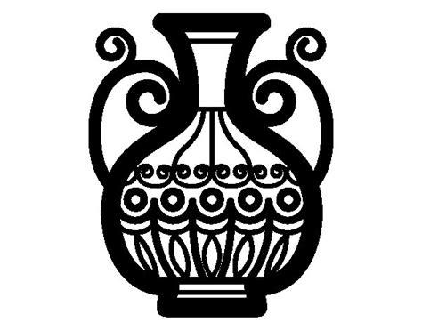 disegni di vasi disegno di vaso decorato da colorare acolore