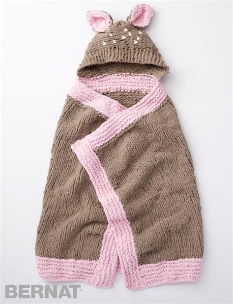 Images Of Baby Blankets by Bernat Oh Deer Blanket Knit Pattern Yarnspirations