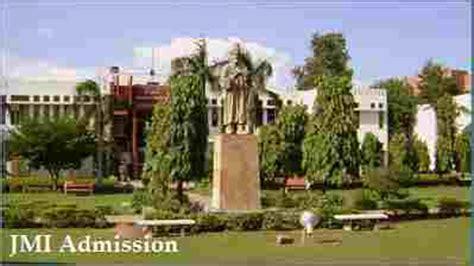 Jamia Mba Entrance Syllabus by Jmi Admission 2018 Jamia Millia Islamia Complete Details