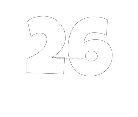 free stencil templates free 26 number stencil freenumberstencils