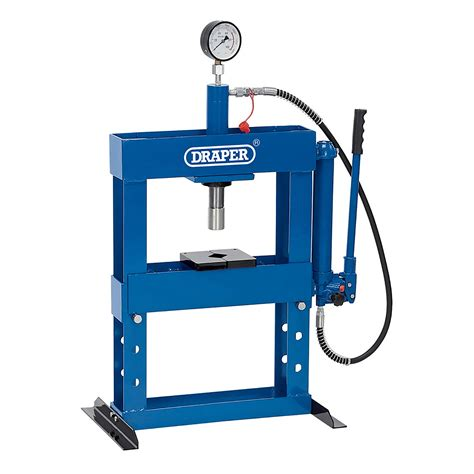 bench hydraulic press draper workshop 10 tonne hydraulic bench press high