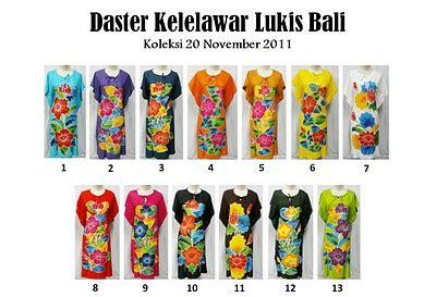 Daster Lowo Safira Dress Gaun Batik Baju Atasan Size Jumbo Kado baju modern daster v kelelawar lukis