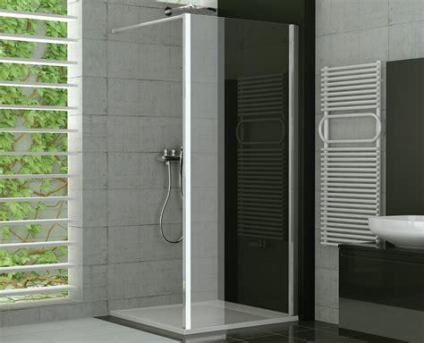 dusche trennwand duschtrennwand glas feststehend 75 x 190 cm