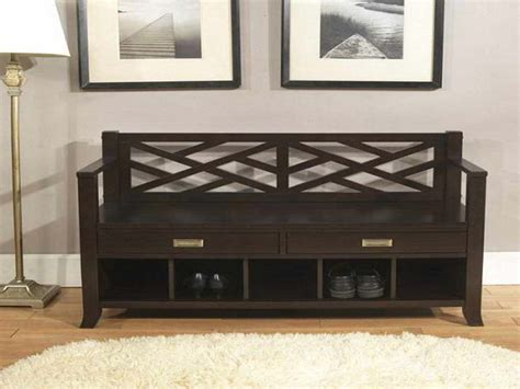 wood storage bench with cushion making storage bench with cushion home design ideas