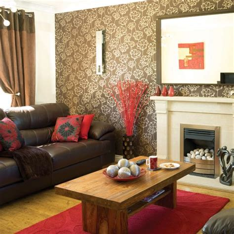 Brown Leather Sofa Decorating Ideas Brown Leather Decorating Living Room Decorating Ideas With Brown Leather Furniture