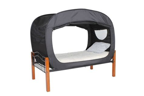 privacy pop up bed tent privacy pop bed tent the sensory spectrum