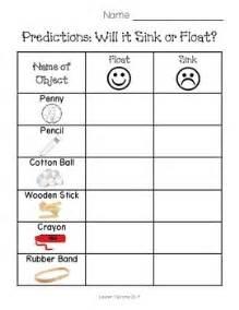 Sink And Float Worksheet sink or float worksheet by teitsma treasures teachers pay teachers