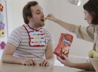 Dorito kid slaps man for dating