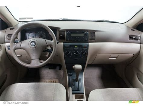 toyota corolla dashboard 2006 toyota corolla ce beige dashboard photo 102864009