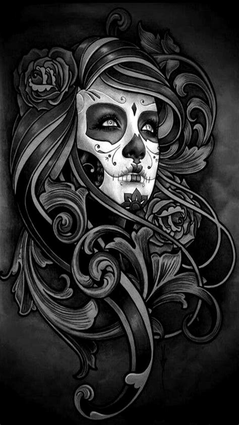 hd phone wallpapers on twitter quot day of the dead dia de