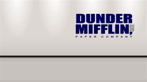 Dunder Mifflin dunder mifflin logo wallpaper