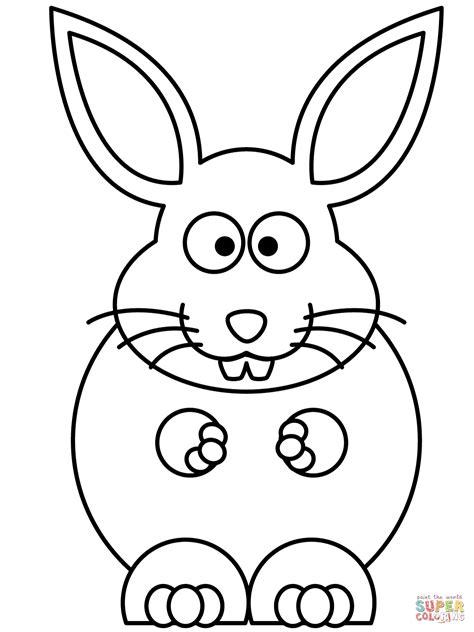cartoon bunny coloring pages cartoon bunny coloring page free printable coloring pages